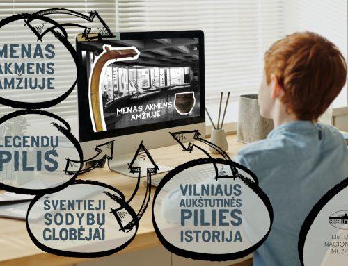 Muziejaus edukacijos moksleiviams – jau ir virtualioje erdvėje
