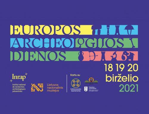 Europos archeologijos dienos Lietuvos nacionaliniame muziejuje